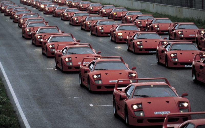 Zjazd Ferrari Club Germany (fot. Ferrari)