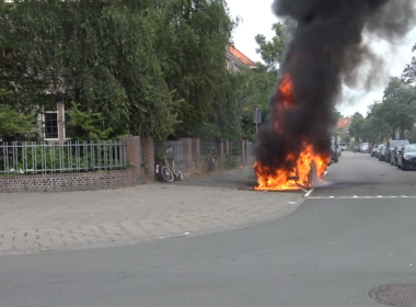 pożar VW ID.3