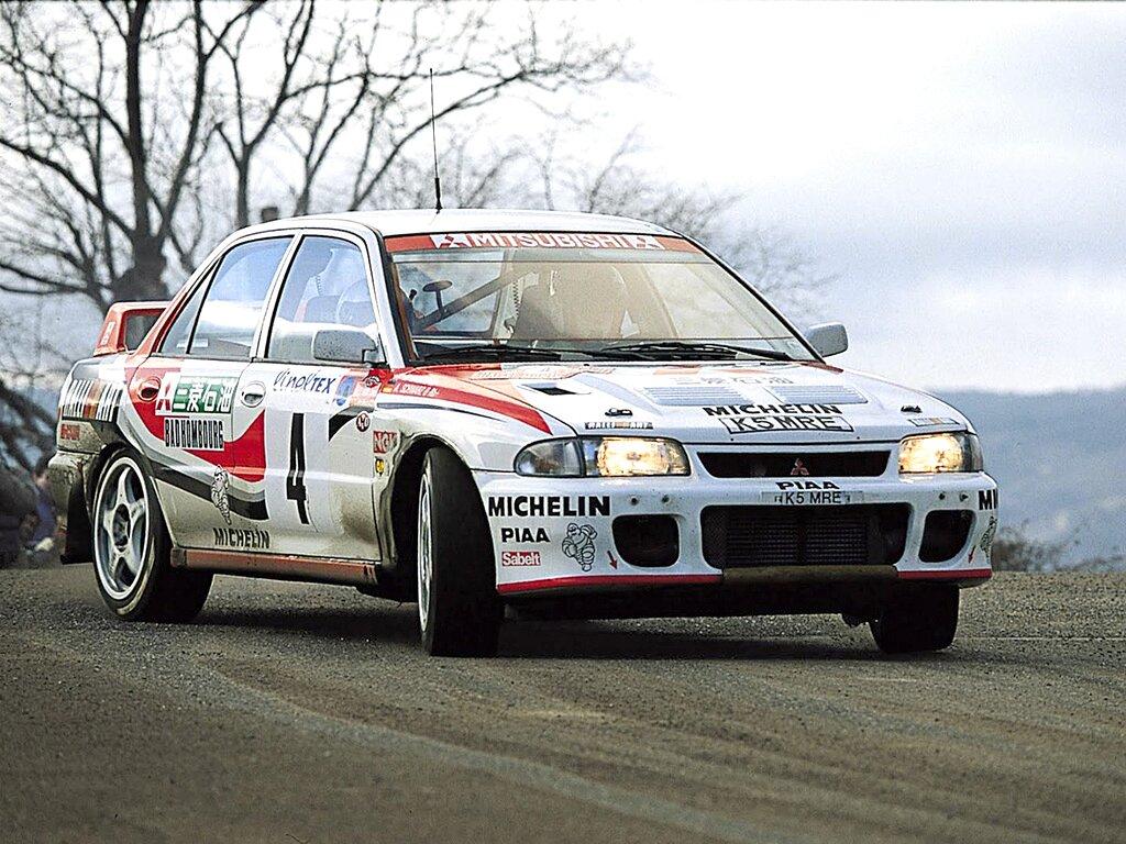 Mitsubishi Lancer Evolution Rally Version 1