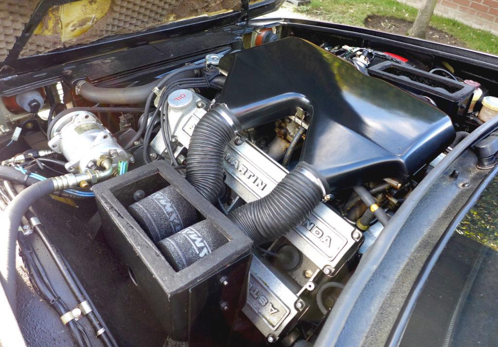 silnik Aston Martin V8 Zagato