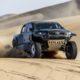 Toyota GR DKR Hilux T1+ podczas testów w Namibii (fot. Toyota)