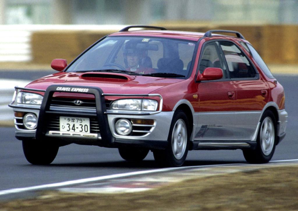 Subaru Impreza Wagon Gravel