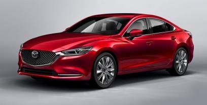 Mazda 6 III Sedan Facelifting 2018